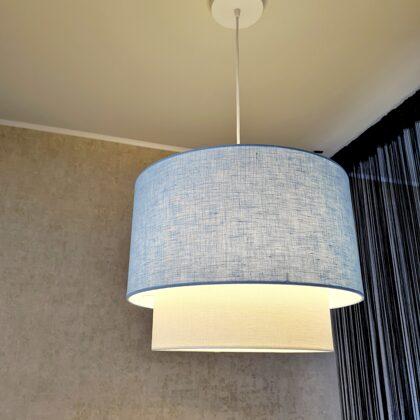"""Taisnā """"tortītes """"modeļa lampa ar izmēriem: D40 D30 H30cm"""