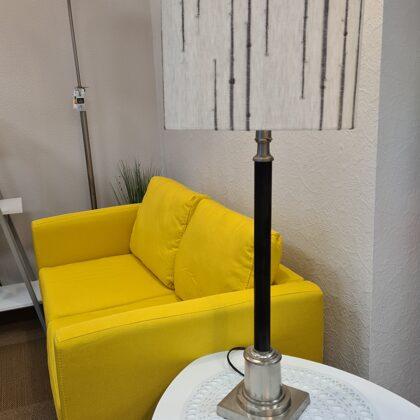 Abažūrs klienta atnestai galda lampa
